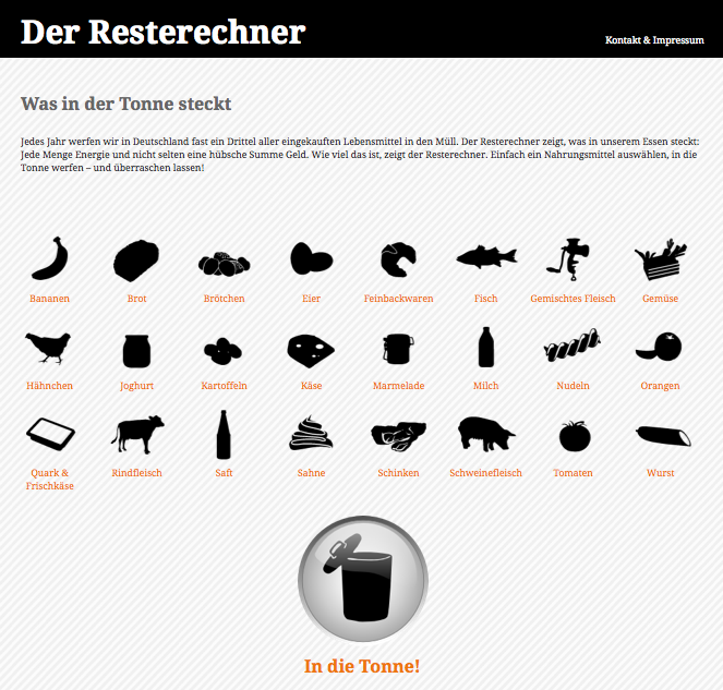 Screenshot resterechner.de