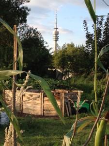 """Gemeinschaftsgarten """"o'pflanzt is"""" (Foto: Christa Müller)"""